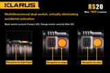 *NEW* Klarus RS20 CREE XM-L2 U2 LED 1050 Lumens Flashlight