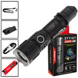 KLARUS XT11GT Tactical Flashlight Kit - Black