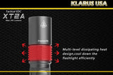 Klarus XT2A 245 Lumen Tactical EDC CREE XP-G R5 LED Flashlight