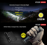 Klarus XT2CR Rechargeable Flashlight 1600 Lumens