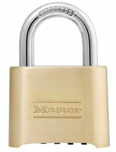 Master Lock Padlock 175D - 4 Digit Re-settable Combination Padlock