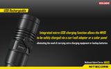 Nitecore MH10 Multitask Hybrid Series CREE XM-L2 U2 LED Flashlight 1000 Lumens