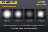Klarus MiX7 Ti CREE XP-G2 1A LED Titanium Flashlight 180 Lumen