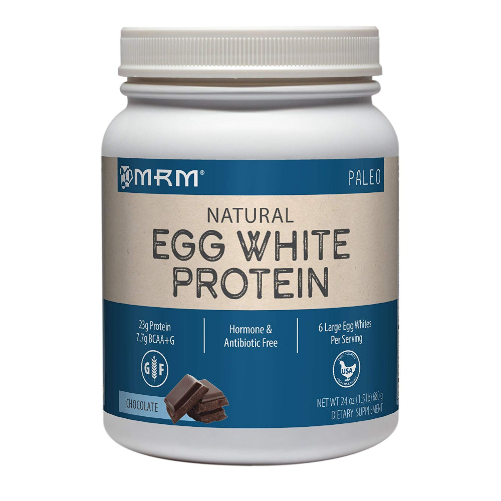 MRM Egg White Protein Powder, Paleo, 6 Egg Whites Per Serving 24 oz Chocolate