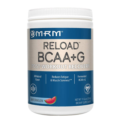 MRM BCAA+G Reload Post-Workout Recovery, 11.6 oz Watermelon Powder