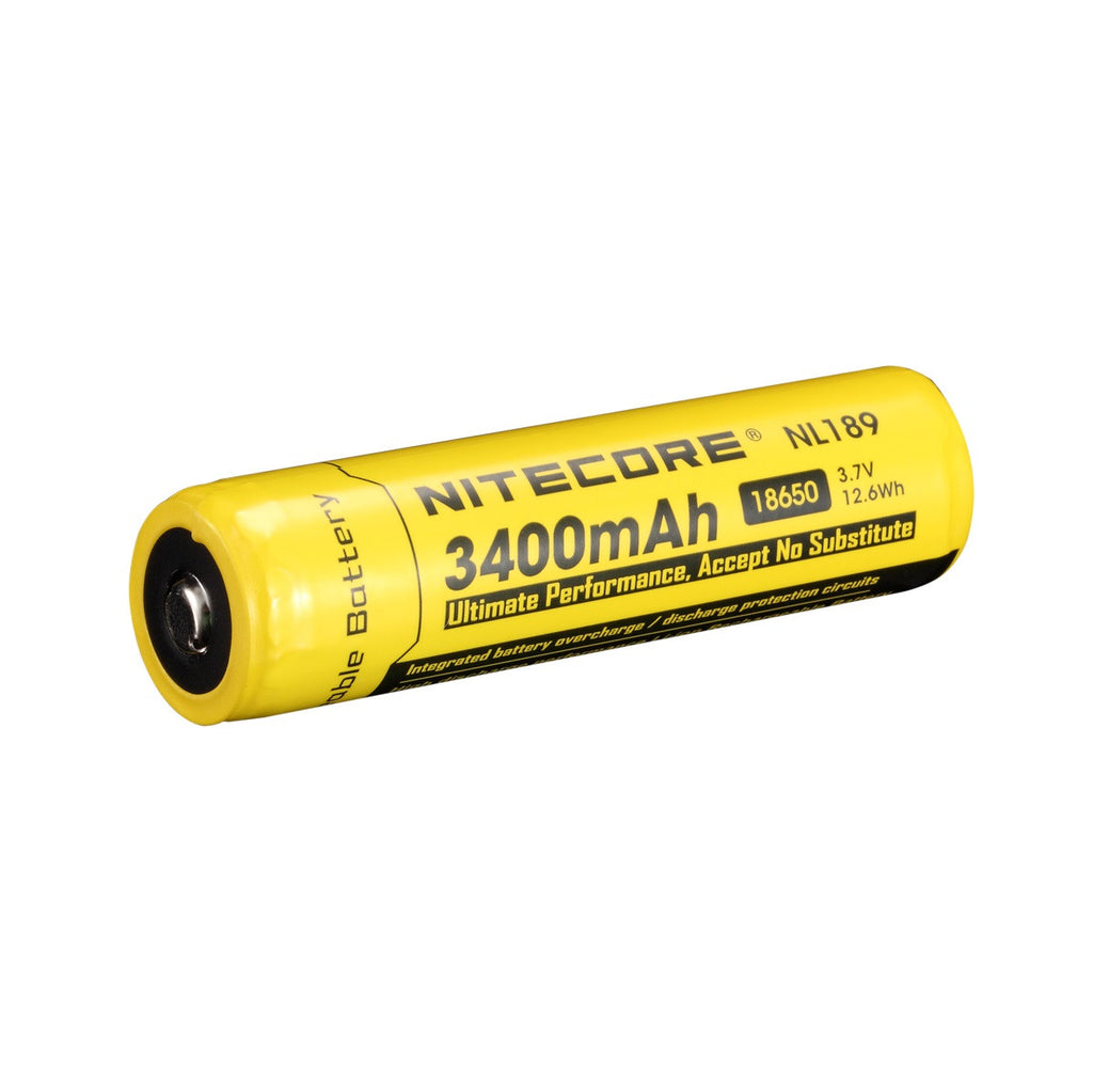 NITECORE NL189 3400mAh Protected Li-ion 18650 Rechargeable Battery