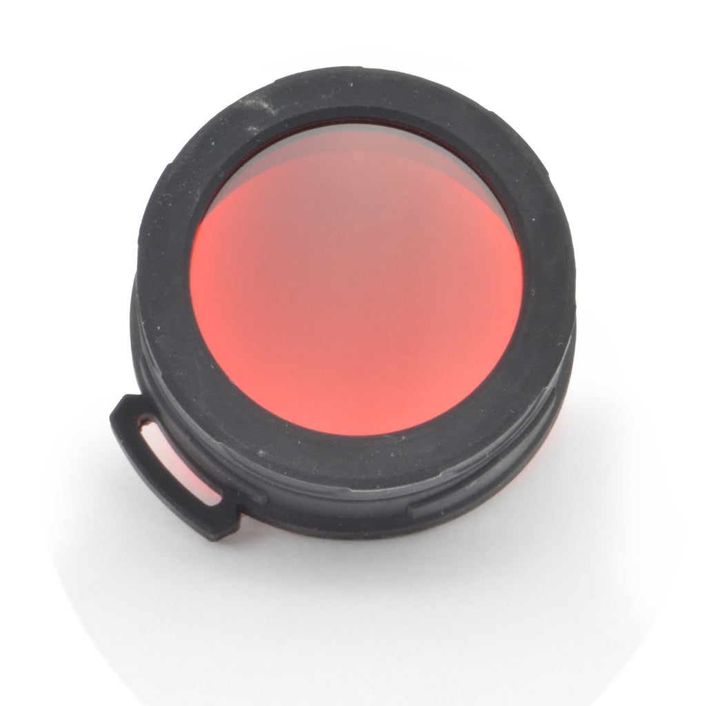 Nitecore NFR50 Red 50mm Filter