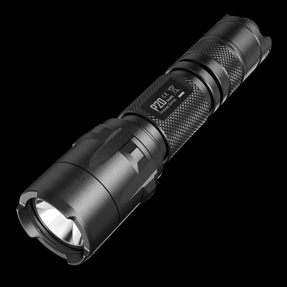 NEW NiteCore P20 Tactical Strobe Ready 800 Lumen LED Flashlight