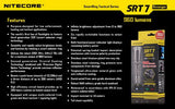 Nitecore SRT7 Revenger Cree XM-L2 LED 960 LM Flashlighght -Grey