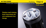 NiteCore TM15 Tiny Monster 2450 Lumen LED Flashlight