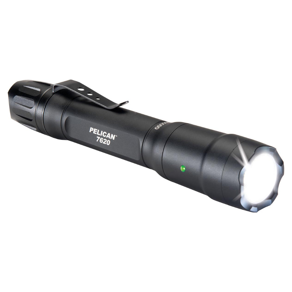 Pelican 7620 Tactical EDC Flashlight LED Light 1124 Lumens, Black