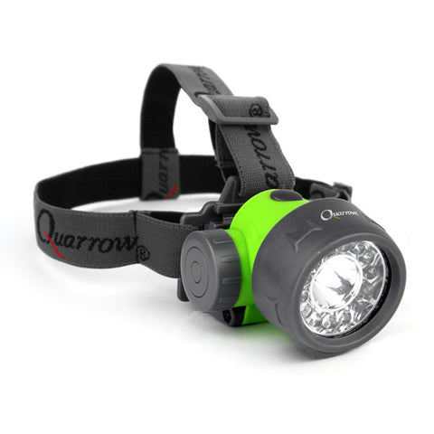 Nebo 5492 Quarrow 70 Lumen White/Green/UV LED Headlamp