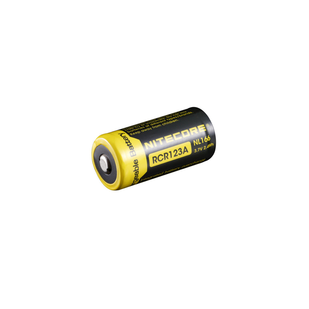 NITECORE 650mAh Protected Li-ion RCR123A Rechargeable Battery
