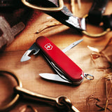 Victorinox Classic SD Small Pocket Knife with Scissors and Screwdriver - Red