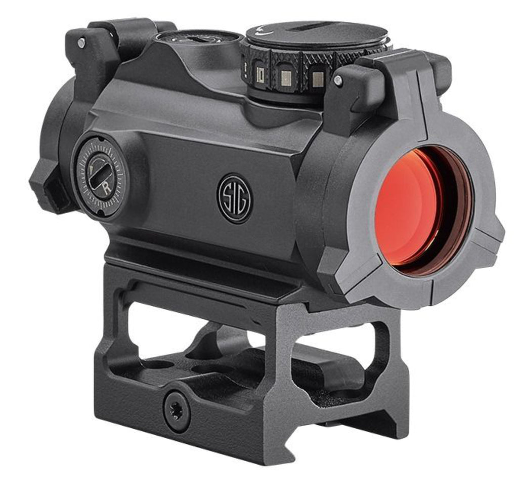 SIG Sauer Romeo MSR Red Dot Sight | 2 MOA Red Dot | IPX7 Waterproof & Fog-Proof