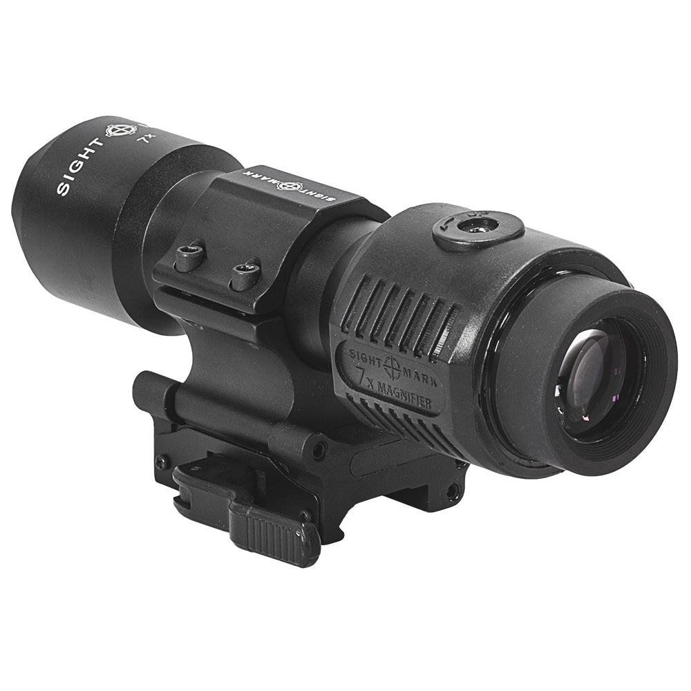 Sightmark 7X Tactical Magnifier with Slide to Side Mount - SM19039