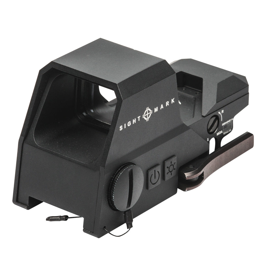Sightmark Ultra Shot R-Spec Reflex Sight, Red and Green Reticle - Black