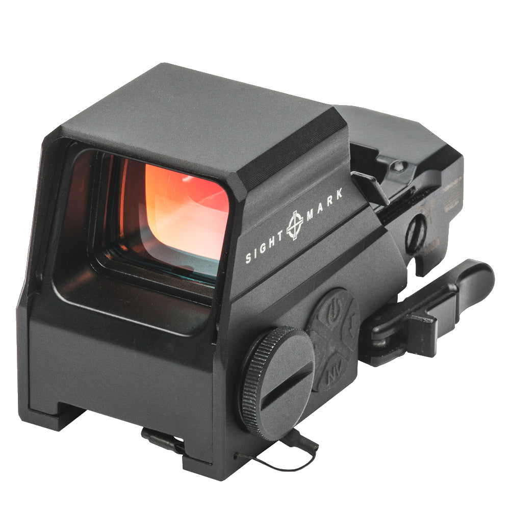 Sightmark Ultra Shot M-spec LQD Reflex Sight, Red 65-MOA SM26034