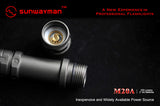 M20A  Cree XM-L Mini Magnetic Control Flashlight - 2XAA