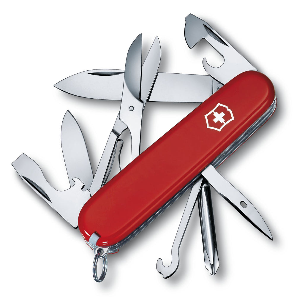 Victorinox Super Tinker Swiss Army Knife 14 Functions - Red