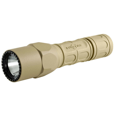 Surefire G2X Pro Dual-Output 600 Lumen LED Flashlight - Tan - G2X-D-TN