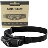 SureFire Maximus Rechargeable Variable-Output LED Headlamp 1000 Lumens HS3-A-BK