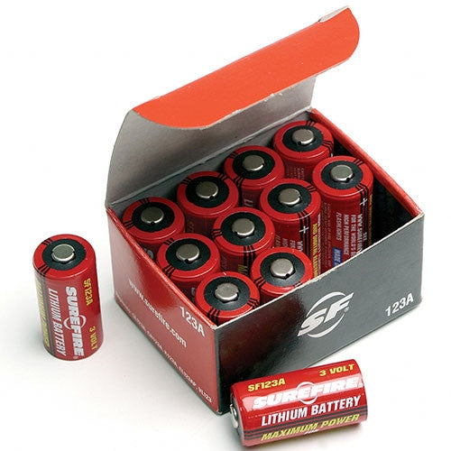 12 pack Surefire CR123A Lithium 3V Battery