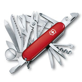 Victorinox Swiss Champ Swiss Army Pocket Knife Multi-Tool 33 Functions - Red