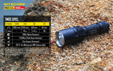 NiteCore TM03 LED Flashlight with IMR18650 Rechargeable Battery 2800 Lumen