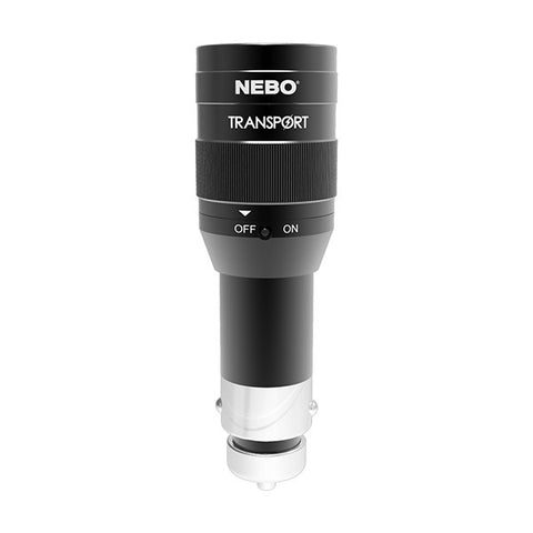 NEBO 6311 Transport DC 12V Rechargeable LED Flashlight 125 Lumen