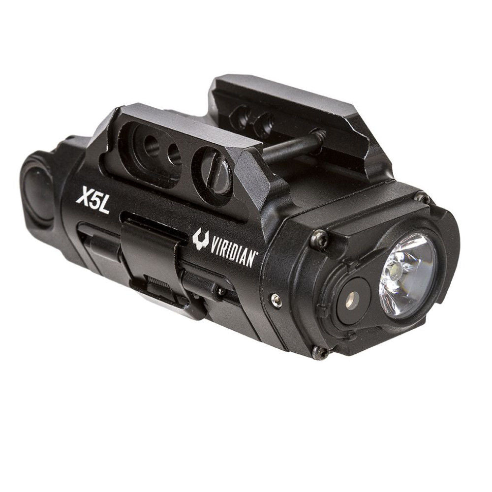 Viridian Weapon Technologies X5L Gen 3 Weapon Light 500 Lumen with Green Laser Sight