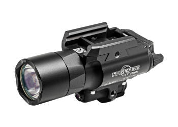 Surefire X400 Ultra Long Gun WeaponLight with Red Laser