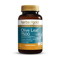 Herbs of Gold Olive Leaf 7500 60 tablets