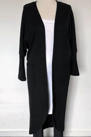 Helen Long Length Cardigan - Tencel Mix