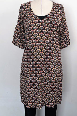 Sensa Gathered sleeve Dress -  Size 10 only