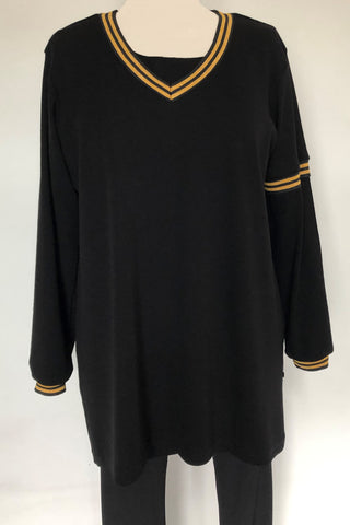 Gold Trim Sweat