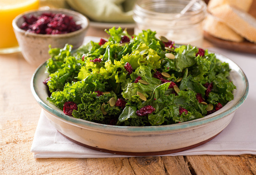 Ayurvedic Recipe: Kale Sunflower Salad