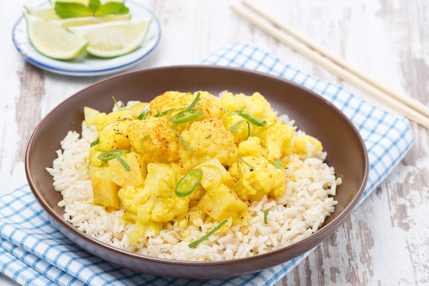 Ayurvedic Recipe: Coconut Curry Vegetables