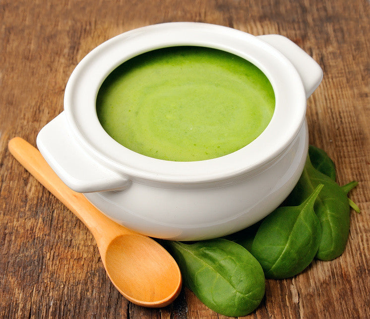 Ayurvedic Recipe: Cream of Spinach Soup