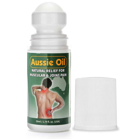 Aussie Oil - Natural Muscle and Joint Pain Relief