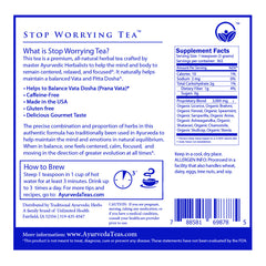 Relaxing Ayurvedic Tea - Organic  NON-GMO - Loose Tea - 2LB Bulk Bag