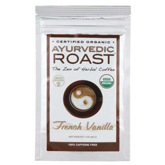 Organic Coffee Substitute - Ayurvedic Roast - Sample Pack - 2 Flavors - Vanilla + Unflavored