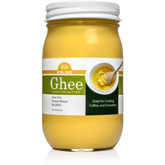 Grassfed Organic Ghee -  Made in USA - Glass Jar