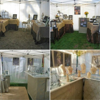 Evolution of an Art Fair Booth and Design Tips