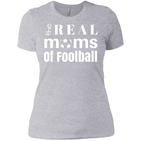 Real Football Moms Ladies' Boyfriend T-Shirt