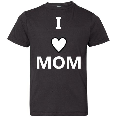 Youth ILoveMom Jersey Tee