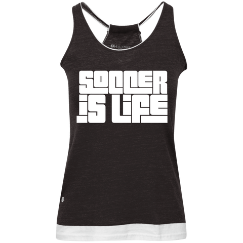 SIL Juniors' Vintage Heathered Tank