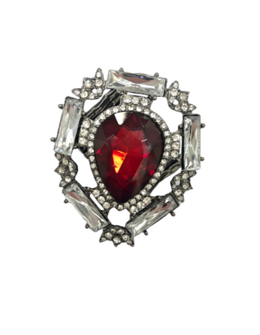 Bowie Crystal Ring