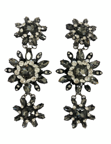 Yasmin Crystal Earrings