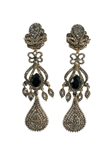 Anne Crystal Earrings